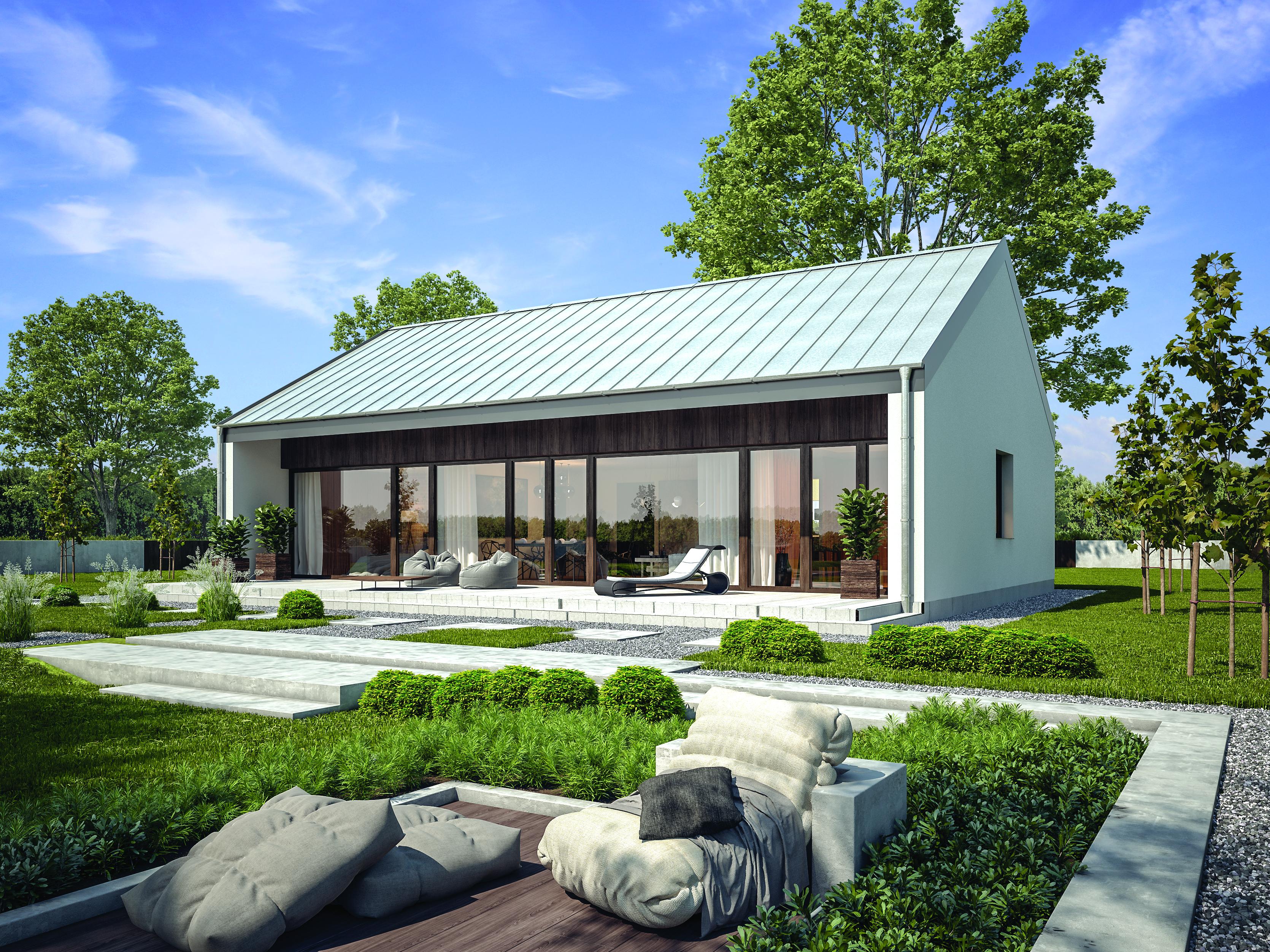 Projekt domu - Przejrzysty