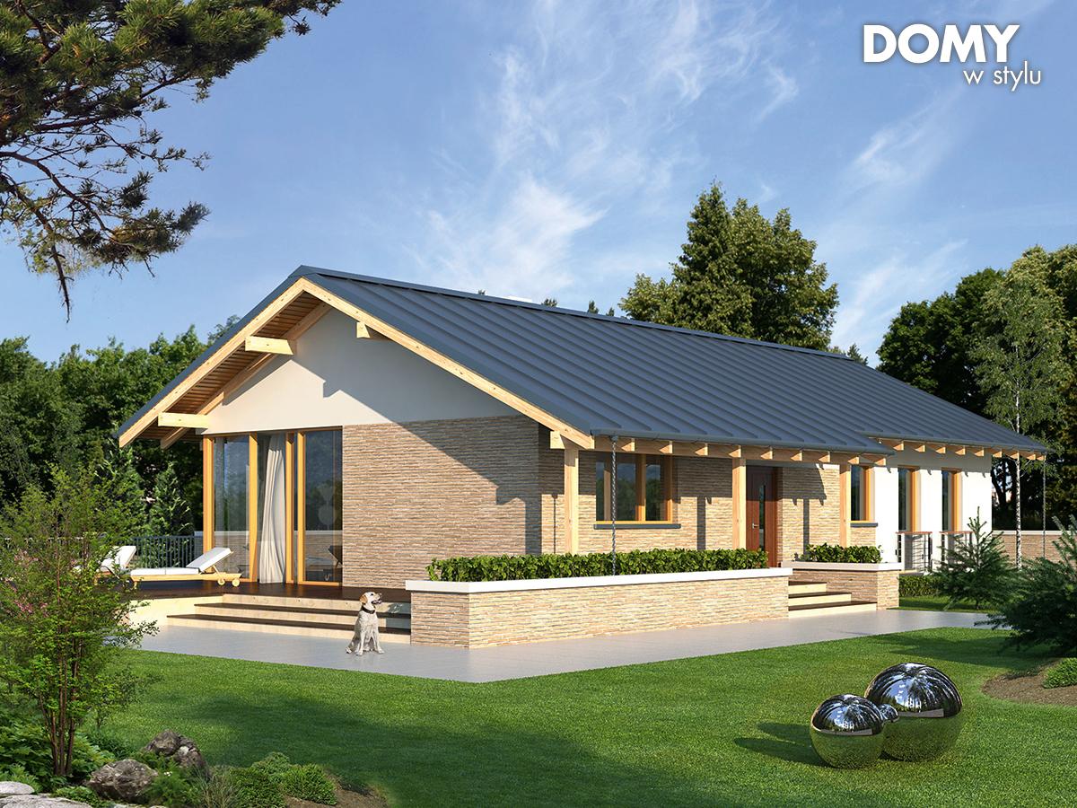 Projekt domu Mahoń